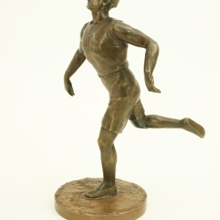 Antique Figure of a Athlete Runner