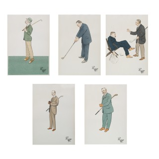 Antique Golf Pictures.
