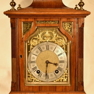 A German Quarter Striking Mantel Clock by Lenzkirsch