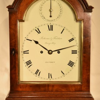 A Mahogany Striking Bracket Clock
