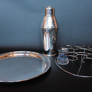 Art Deco Cocktail Set