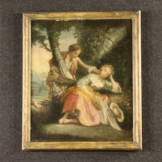 18th Century Romantic Scene Painting