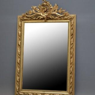 Attractive XIX Century Giltwood Mirror