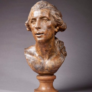 Portrait bust of Montgolfier, French, 18th Century