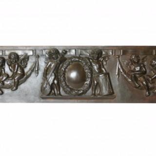 Large and Unusual 19th Century Decorative Iron panel