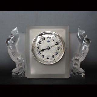Deux Coqs Clock