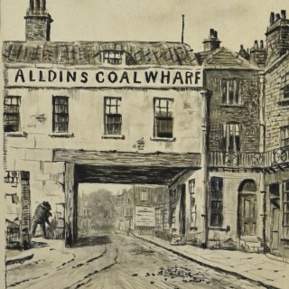 Walter Greaves (1846-1930) - Alldins Coal Wharf, The Old Archway, Chelsea