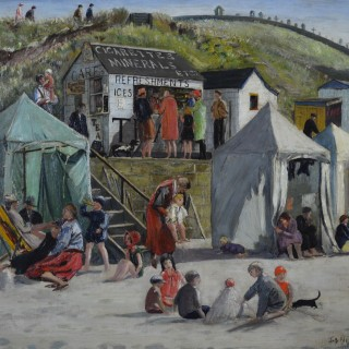 Job Nixon (1891-1938) - Beach Refreshments