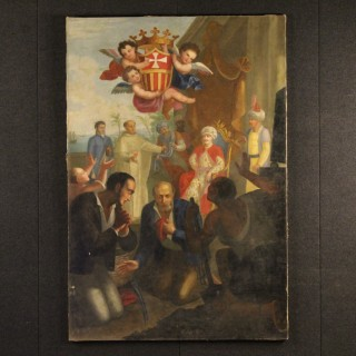19th Century Italian Signed Painting
