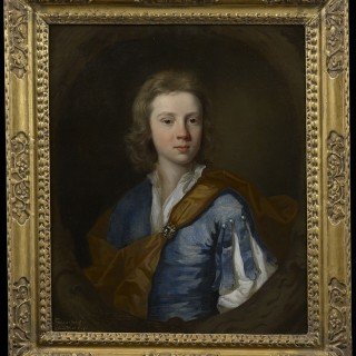 Portrait of Francis Wyatt by John Closterman