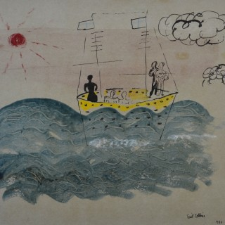 Cecil Collins (1908-1989) - The Voyage of Ulysses