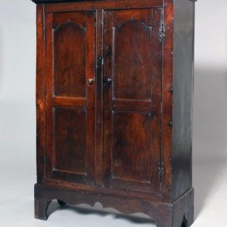 Small Welsh oak cupboard