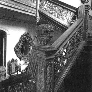 The Crakemarsh Hall Stair