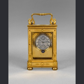 A rare and exceptionally fine French carriage timepiece, by FATTON ÉLÈVE De BREGUET No. 82 Paris c1825