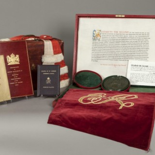Selection of Items Relevant to the Coronation of Elizabeth the Second