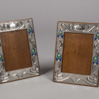 Pair of Silver Photograph Frames