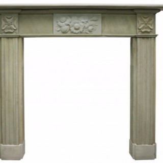 Early 19th Century Georgian stone fireplace surround