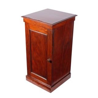 Victorian Mahogany Bedside Cabinet