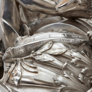 Solid silver centrepiece by Armand-Calliat et Fils