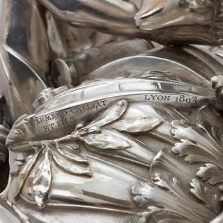 Solid silver centrepiece by Armand-Calliat et Fils