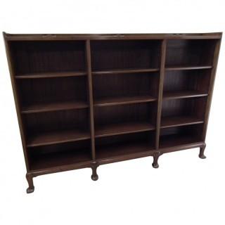 Whytock and Reid Mahogany Open Bookcase
