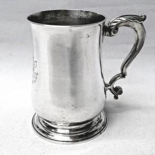 George III Silver Mug