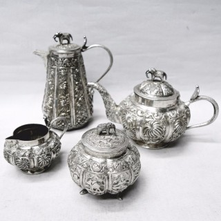 Antique Silver Tea Set
