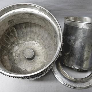 Georgian Wine Cooler in Old Sheffield Plate