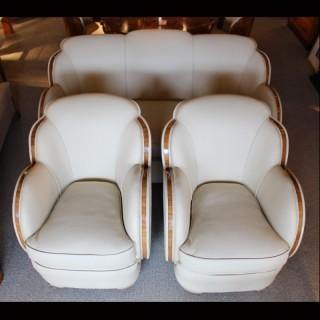 Art Deco Three Piece Suite