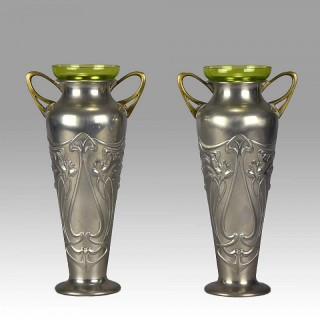 WMF - Art Nouveau Vases