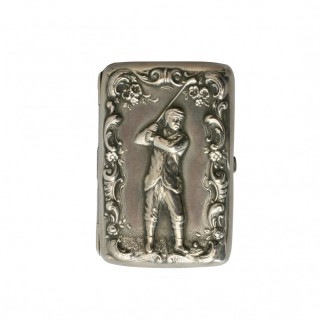 SILVER CARD / CIGARETTE CASE
