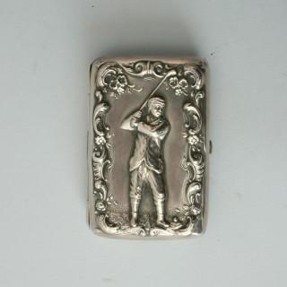 SILVER CARD / CIGARETTE CASE