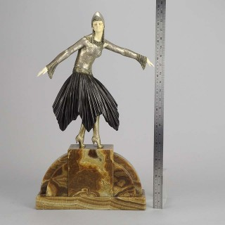 Art Deco Sculpture by Chiparus - Starlight