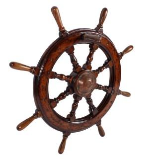19th Century Ship's Wheel