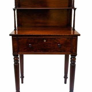 Rare Antique Mahogany Writing Table by Gillows of Lancaster