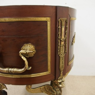 Empire Revival Mahogany and Ormolu Mounted Jardiniere