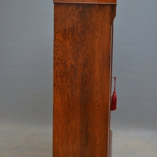Victorian Rosewood Pier Cabinet - Display Cabinet