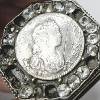 Antique Continental Silver Box