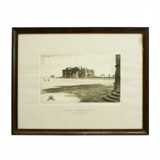 St Andrews Golf Club Bicentenary Etching.