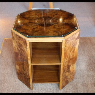 Art Deco Library Side Table