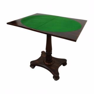 Regency Fold Over Games Table
