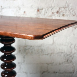 An Attractive Mahogany Bobbin Turned Tilt-Top Tripod Table c.1890