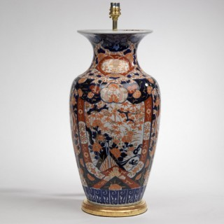 Large Scale Late 19th Century Japanese Imari Vase