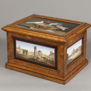 Micro-mosaic 'Grand Tour' Casket