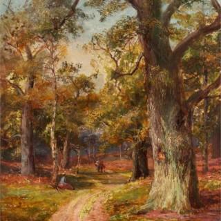 William Lakin Turner.  springtime in Keswick Forest