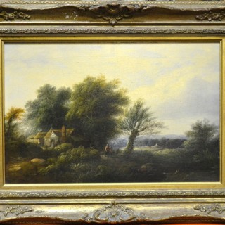 Edward Charles Williams.  Rustic Landscape