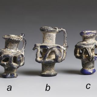 Roman Miniature Glass Pendants