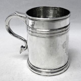 Antique William III Silver Mug