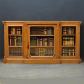 Exquisite Quality Victorian Oak Bookcase
