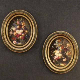 20th Century Pair Of Spanish Still Life Paintings
